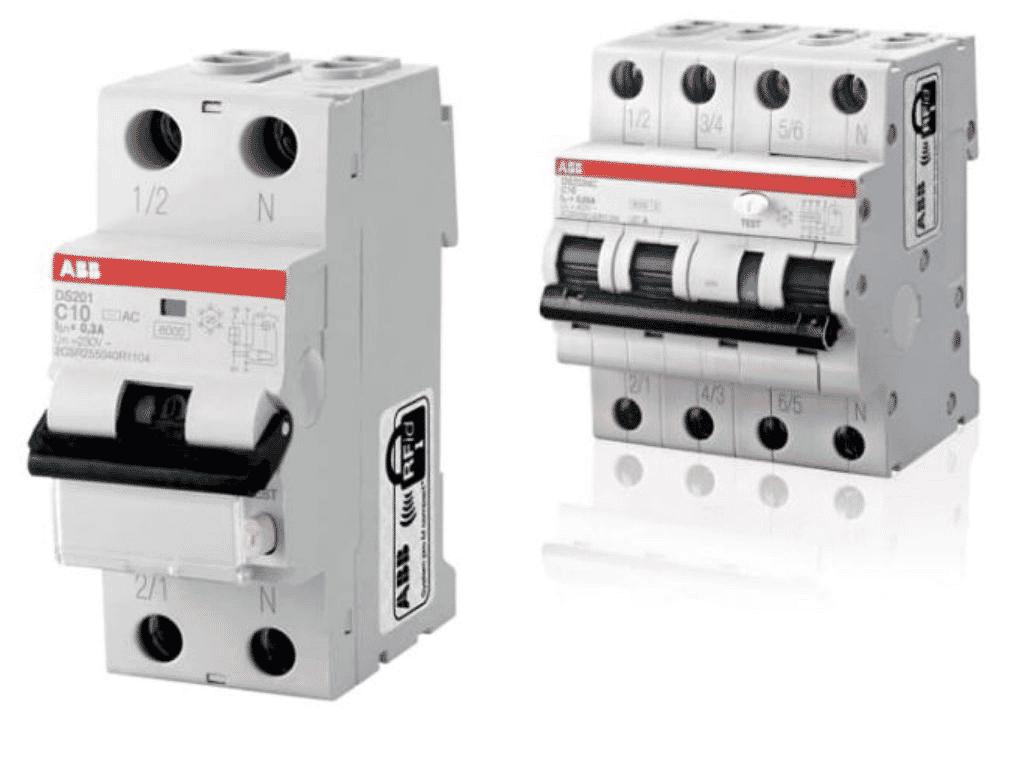 ABB FI//LS-Interruttore ds201a-c16//0,03 Typa 16a//30ma